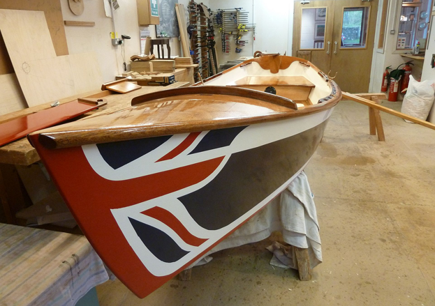 Learn to craft all manor of wooden items with Philip Bastow, including wooden boats!