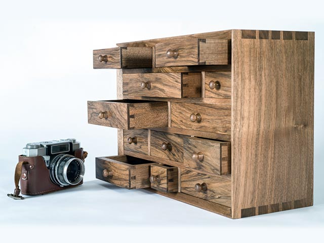 Beautiful wooden furniture crafted by Philip Bastow Cabinet Maker